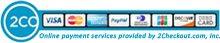 Online payment services provided by 2Checkout.com, Inc.